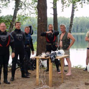 дайвинг экспедиции в Беларуси